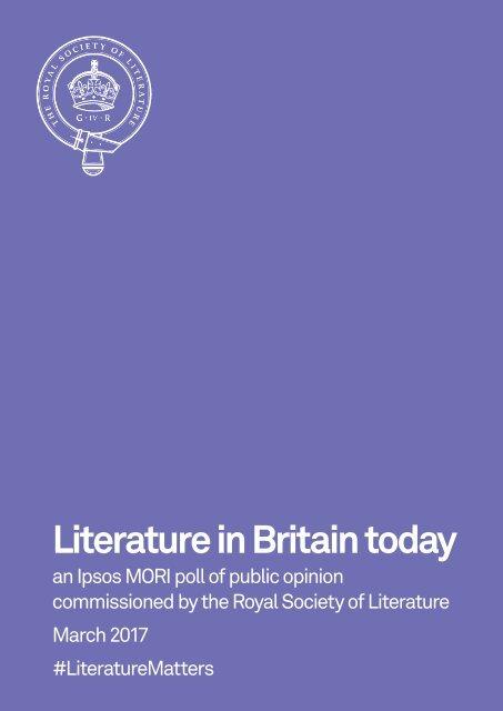 Literature in Britain today