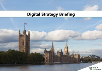 Digital Strategy Briefing