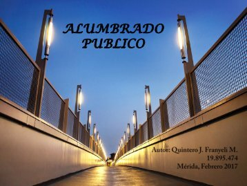 ALUMBRADO PUBLICO REVISTA