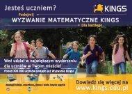 Plakat KINGS