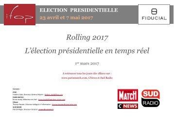 Rolling 2017 L'élection présidentielle en temps réel