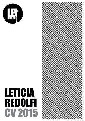 CV Leticia Redolfi