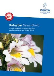 Ratgeber Gesundheit - Weleda