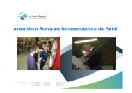 Airworthiness Review and Recommendation under Part-M
