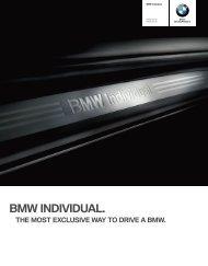 Bmw individual. BMW Individual interior trim