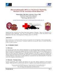 Rheoencephalography (REG) as a Non-Invasive Monitoring ...