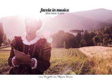 favola in musica & early music bird