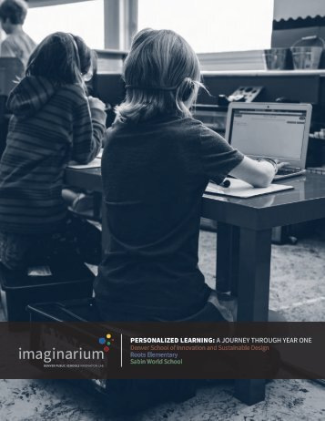 PERSONALIZED LEARNING A JOURNEY THROUGH YEAR ONE