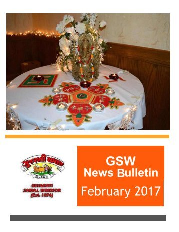 GSW News Letter February