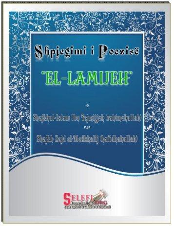 El-Lamijjeh e Shejkhul-Islam Ibn Tejmijjeh