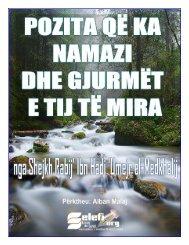 Pozita që ka Namazi në Islam
