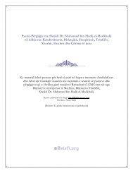 Pyetje-Përgjigje me Shejkh Dr. Muhamed bin Hadij el-Medkhalij në lidhje me Kundërshtarët