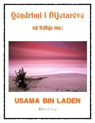 Qëndrimi i Dijetarëve në lidhje me Usama bin Laden