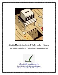 Shejkh Mukbili Rreth Votimeve