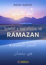Sunetet e Neglizhuara në Ramazan