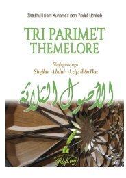 Tri parimet themelore shpjeguar Shejkh Bin Bazi