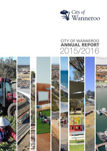 City of Wanneroo Full Annual Report 2015/2016