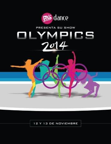 Rios Dance Olympics Brochure