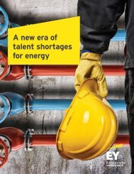 A new era of talent shortages for energy