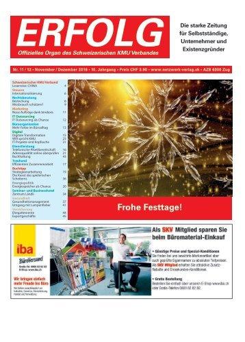 Erfolg_Ausgabe Nr. 11/12 - Nov/Dez 2016