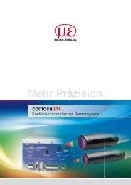 Katalog confocalDT (PDF, 2.36 MB) - Micro-Epsilon Messtechnik ...