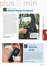 Radical Design Chestpack Iqua Sun oortje - Anwb