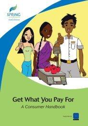 A Consumer Handbook -  Spring