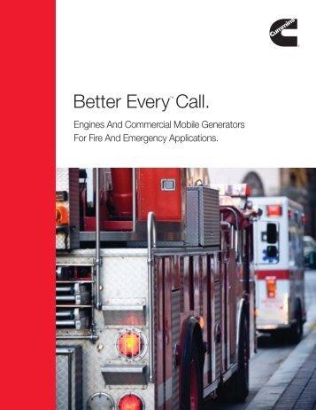 Better EveryTM Call. - Cummins Engines