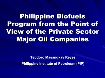 1. The Philippine Institute of Petroleum (PIP)