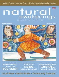 GIVING ORGANIC ECO-SKIER - Natural Awakenings Magazine ...