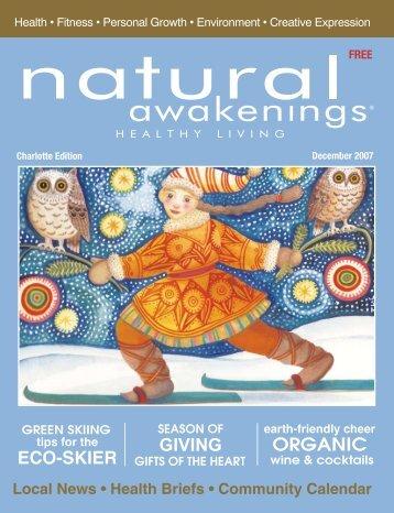 GIVING ORGANIC ECO-SKIER - Natural Awakenings Magazine ...