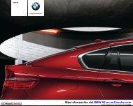 Catálogo del BMW X6 - enCooche.com