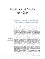DIGITAL CAMERA SYSTEM ON A CHIP - Eric R. Fossum