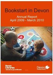 Bookstart Annual Report 2009-2010 - Devon County Council