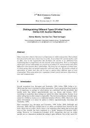 Distinguishing Different Types Of Initial Trust In Online C2C Auction ...