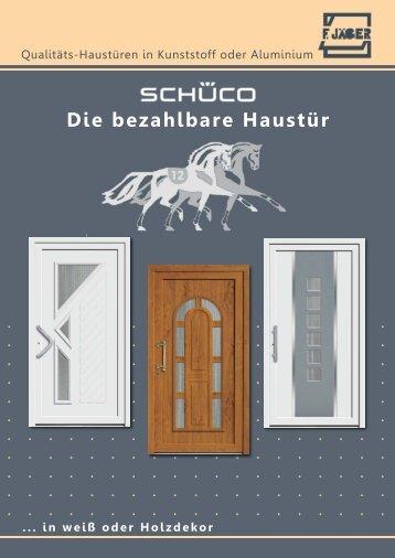 Die bezahlbare Haustür