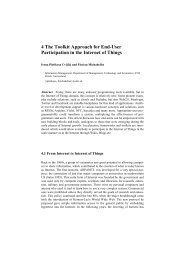 4 The Toolkit Approach for End-User Participation in ... - ETH Zürich