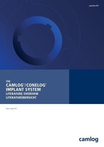 CAMLOG Literaturübersicht-Literature Overview