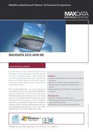 MAXDATA ECO 4010 IW