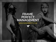 FRAME PERFECTMANAGEMENT BOOK