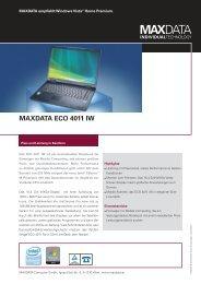 MAXDATA ECO 4011 IW