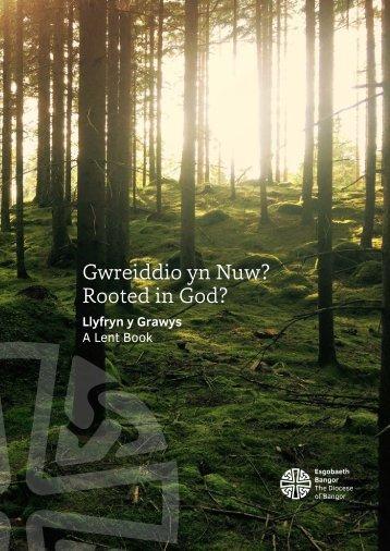 Gwreiddio yn Nuw? Rooted in God?