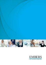 Embers Call Center & Marketing