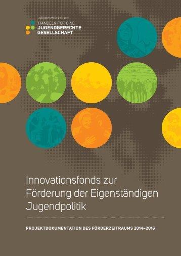 Innovationsfonds zur Förderung der Eigenständigen Jugendpolitik