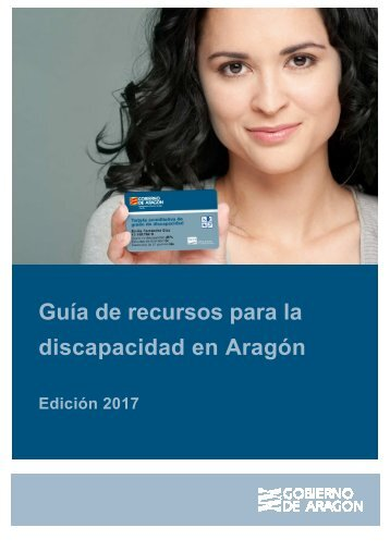 Guía de recursos para la discapacidad en Aragón