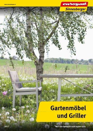 Katalog Gartenmöbel 2017