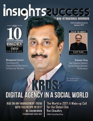 Insights success The 10 Fastest Growing Management and Strategy companies