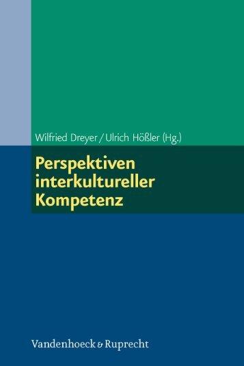 Perspektiven interkultureller Kompetenz - Vandenhoeck & Ruprecht
