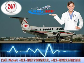 Best Medical Transport in Delhi, Patna, Kolkata, Guwahati, Mumbai, Chennai by Hifly ICU