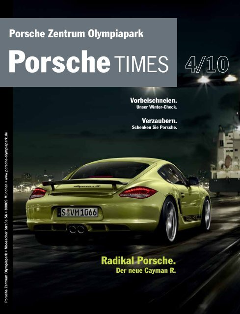 Radikal Porsche. Porsche Zentrum Olympiapark - sun1.btvi.de
